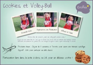 Cookies et Volley ball